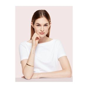 kate spade Jewelry - Kate Spade 'Heart of Gold' Bracelet — Gold